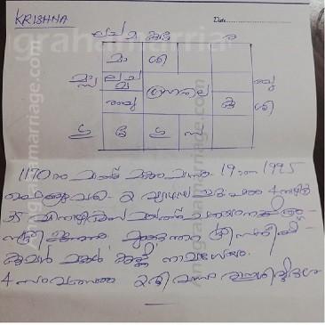 Krishna Satheesh (Chathayam) 9895945039