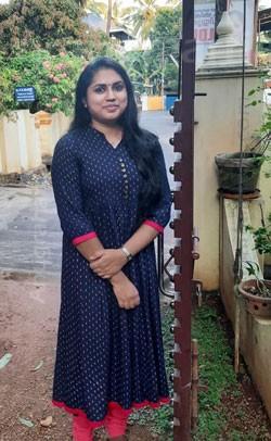 Abina A Kumar(Thiruvonam - 1 dosham)