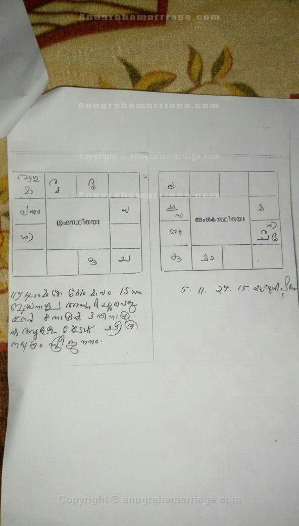 Sukrutha P K (Chithira - 1/2 Dosham) 9048865073